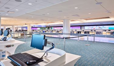 Orlando International Airport Ticket Lobby Modifications
