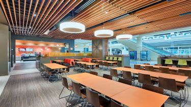 Orange County Convention Center Dining Lounge Architecture